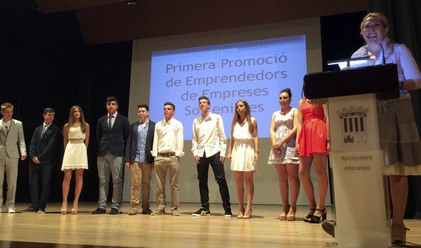 Alcàsser entrega diplomas a las primeras promociones de la EES